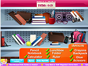 School Store Hidden Objects game