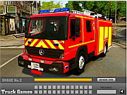 Fire Truck Hidden Letters game