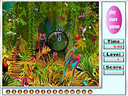 Big jungle hidden numbers game