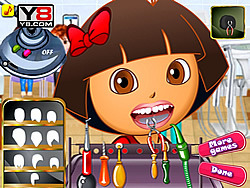 Dora At Dentist game