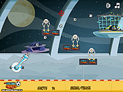 Juega al juego gratis Space Football