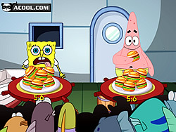Spongebob Love Hamburger game