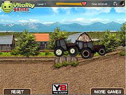 Tractor Farm Racing game