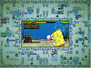 Juega al juego gratis Spongebob Squarepants atlantic bus rush