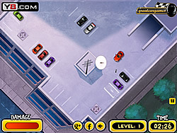 Rooftop Parking Madness game