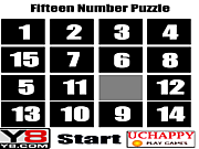Fifteen Number Puzzle game