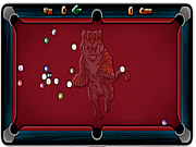 Billiard straight spel