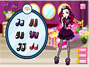 Raven Queen Dress Up game