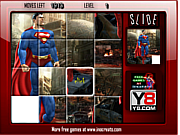 Superman Image Slide game