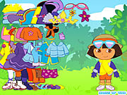 Dora the Explorer Dress Up game