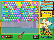 Juega al juego gratis Phineas and Ferb Bubble