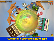 Oggy Around The Planet game