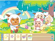 Goats Garden Picnic game