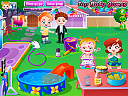 Baby Hazel Backyard Party game