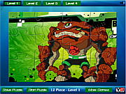 Ben 10 rock Jigsaw game
