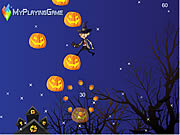 Mr Bean Jump On Pumpkin game
