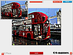 London Bus Puzzle game