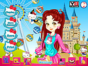 Hello Kitty Fab Makeover game
