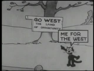 Watch free video Felix The Cat: Felix Goes West