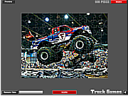 Monster Truck Jigsaw game