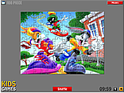 Bugs Bunny Puzzle game