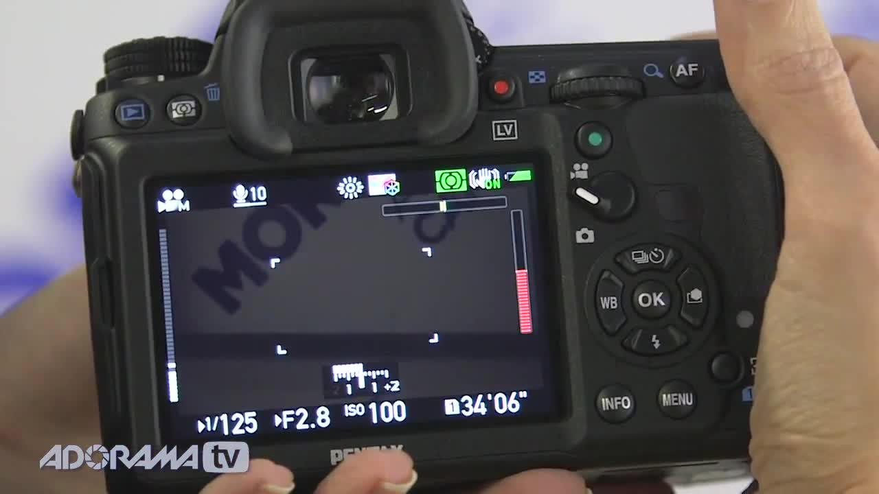 Watch free video Overview of a Pre-production Model Pentax K-3
