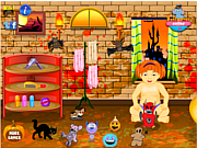 Halloween Baby Bathing game