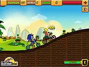 Sonic vs Simpson game