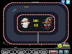 Halloween Car Race game
