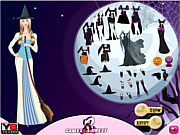 Juega al juego gratis Witch Hallows Dress Up