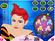 Juega al juego gratis Miley Cyrus Hallows Makeover