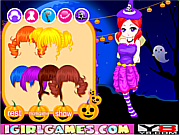 Juega al juego gratis Lovely Halloween Girl