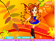 Autumn Fairy Dressup
