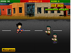 Redakai against  Zombie game