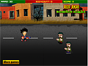Redakai against  Zombie game