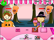 Jouer au jeu gratuit Halloween Ice Cream Treats