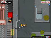 Railroad Crane Parking game