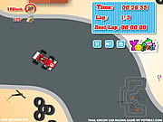 Juega al juego gratis Trail Circuit Car Racing