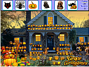 Witch Halloween Hidden Object game