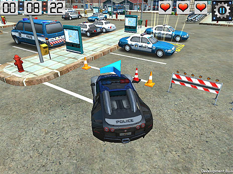 Skill 3D Parking Police Station game