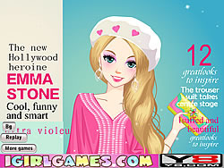 Fashion Cover Girl game