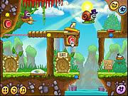 Juega al juego gratis Snail Bob 5