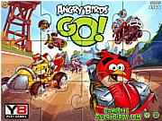 Играть бесплатно в игру Angry Birds Go Jigsaw