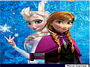 Disney Frozen Spin Puzzle game