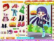 Fast Food Dressup game