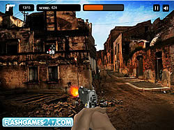 Combat Zone Shooter game