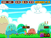 Super Peach Blast game