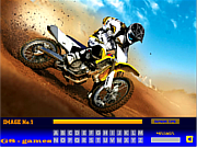Bike Stunts Hidden Letters game