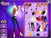 Bold Style Dress up game