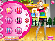 Candy Store Girl Dressup game